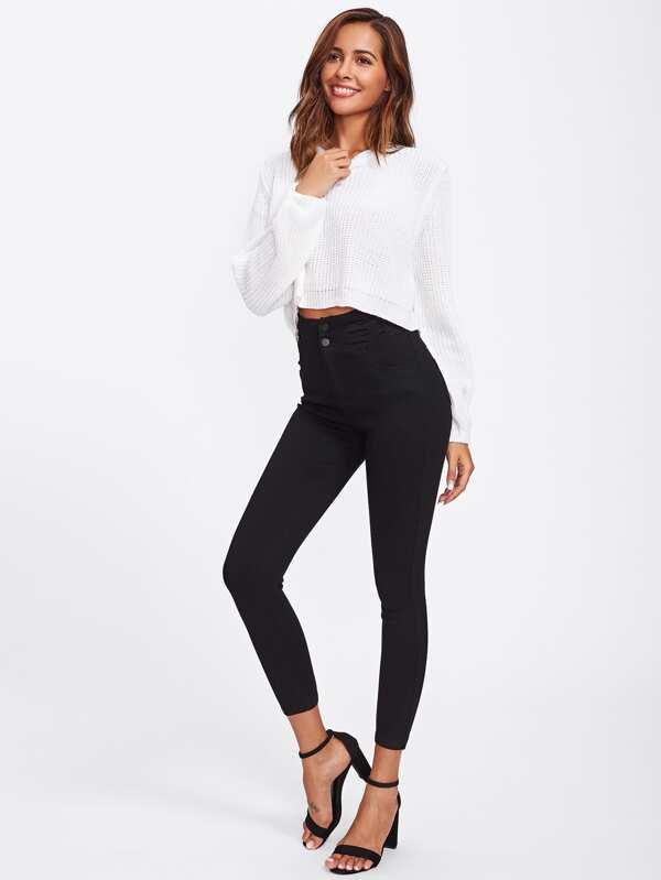 678ebbdf3a High Waist Skinny Jeans   SHEIN UK