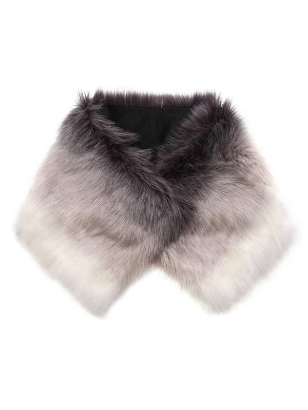 Faux Fur Tippet Scarf  9201fbc338292
