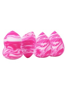 Multi Shaped Sponge Puff 4pcs