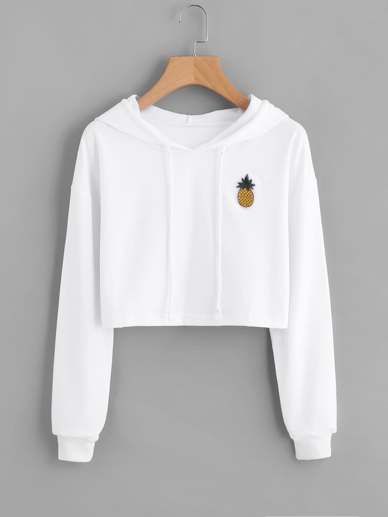 Women White Long Sleeve Shirt