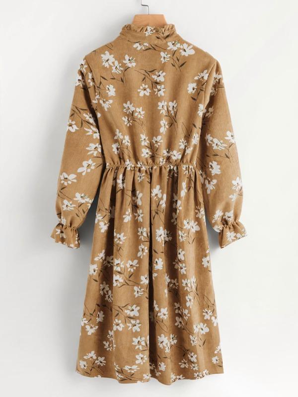 01de99bf5a Ditsy Floral Button Front Tea Dress