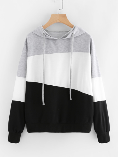 Sweat-shirt tricolore