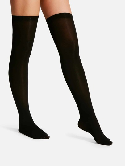 62f006be3 Over The Knee Plain Socks