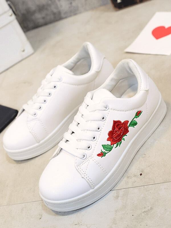 Shop For Perfect Online H?gl Floral contrast sneakers For Cheap Sale Online Free Shipping Finishline Buy Cheap For Sale DyjEcO3n