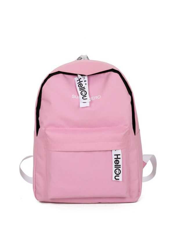 ccfb43243c0c Double Zipper Canvas Backpack
