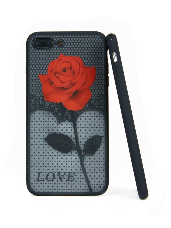 5905686523 Cheap Rose Pattern Phone Case for sale Australia | SHEIN