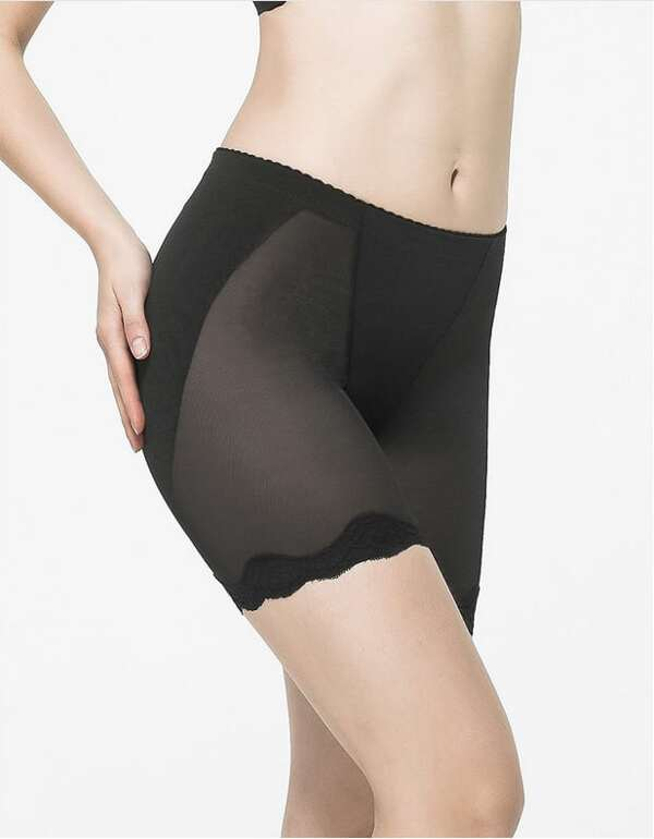 1ef1f9eaf07 Body Shaper Shorts With Silicone pads