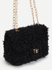 8055955622d0 Faux Fur Crossbody Bag