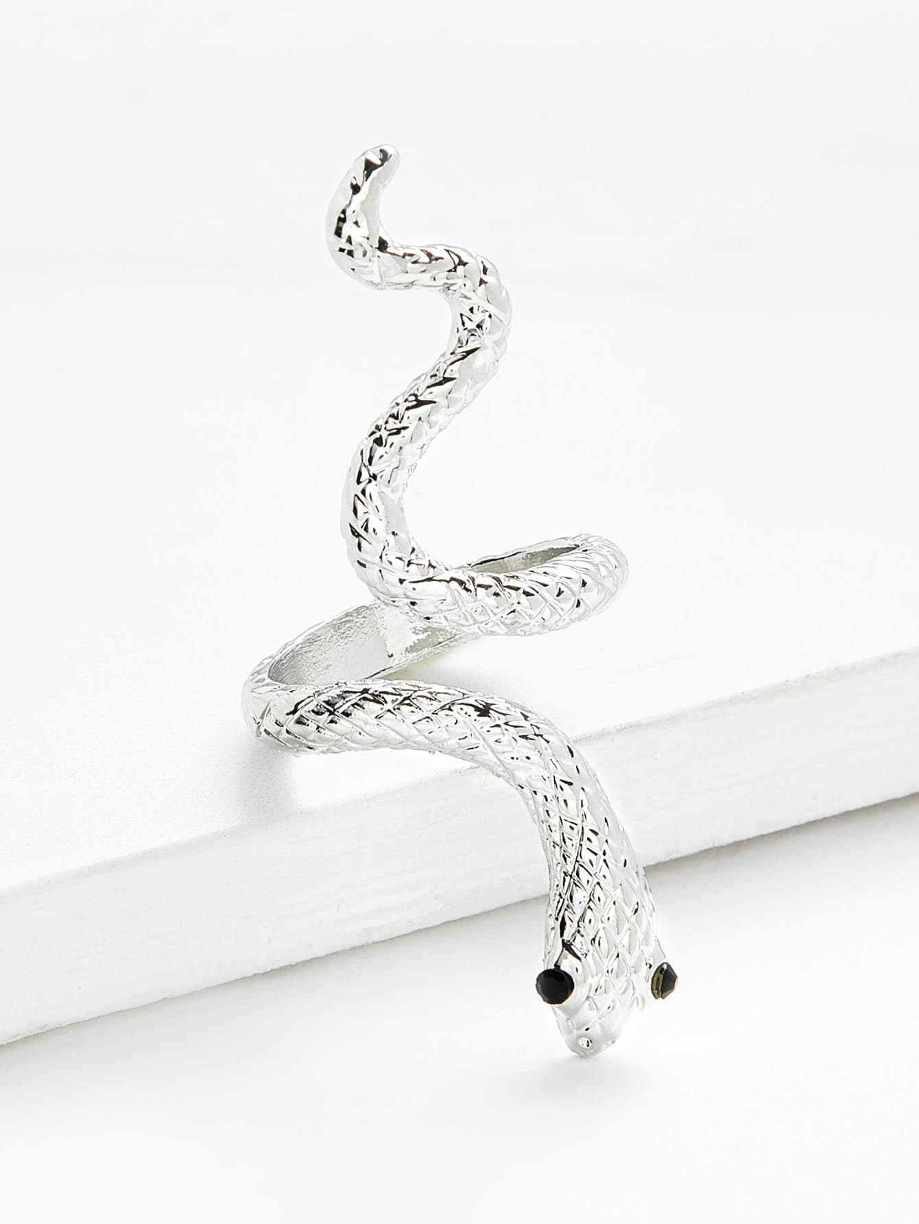 Cute Snake Design Ring SheIn Sheinside