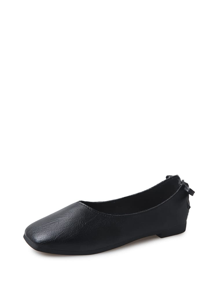 51191ab28b0 Bow Back Ballet Flats EmmaCloth-Women Fast Fashion Online