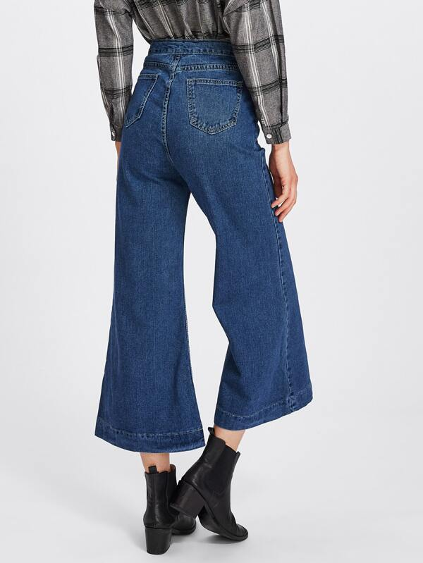 b6a7de4b7c Wide Leg Flare Jeans | SHEIN