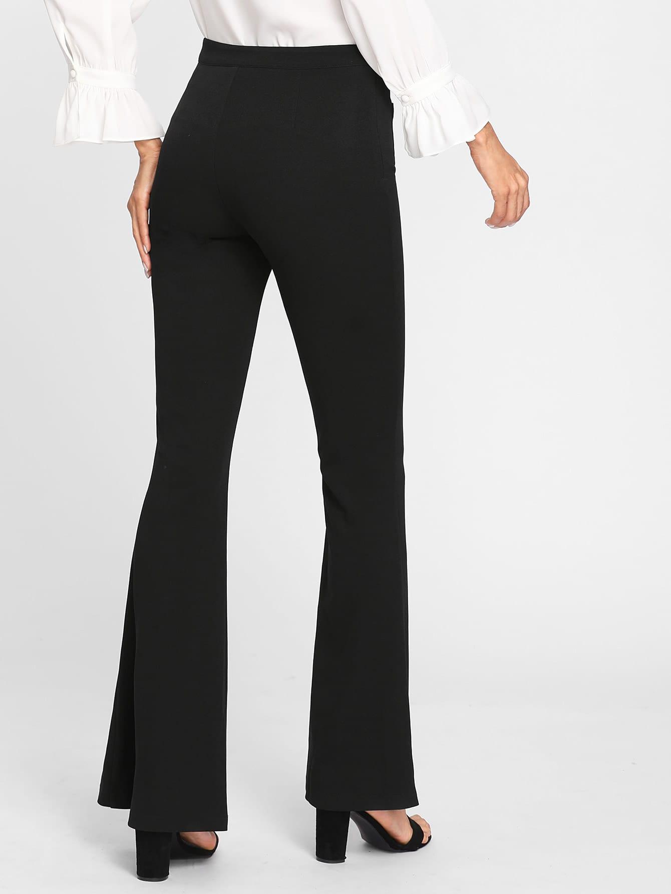 Pantalones De Campana Mode De Mujer Shein Espana