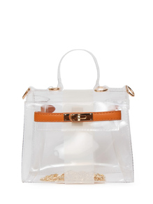 Clear Satchel Bag