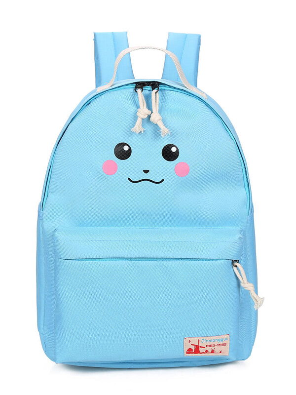 594faa6c38 Cartoon Print Canvas Backpack -SheIn(Sheinside)