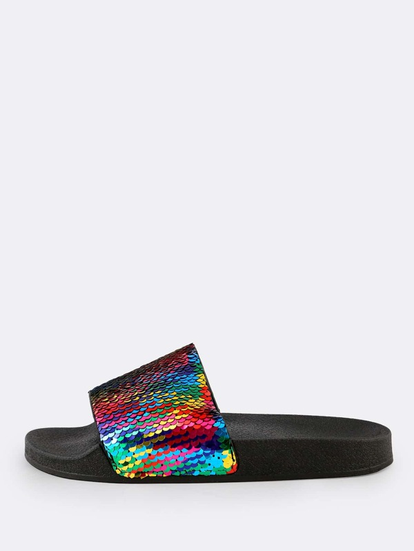 888858b7a7af Cheap Mermaid Sequin Slippers MULTI for sale Australia | SHEIN