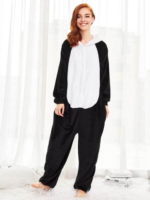 9ccba3029799 Plush Panda Onesie. AddThis Sharing Buttons