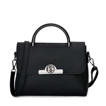 Twistlock Flap Satchel Bag