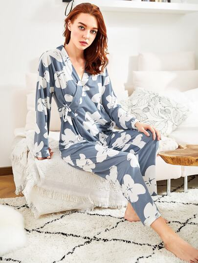 e9b3ff0120 Pajama Sets - Shop Pajama Sets for Women Online | SHEIN IN