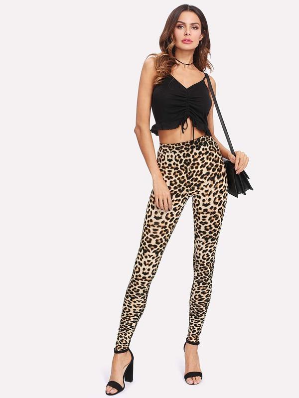 727d7525b8 Leopard Print Skinny Leggings | SHEIN UK