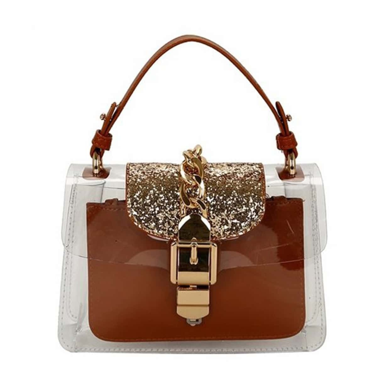 - Transparent PVC Bag With Inner Clutch