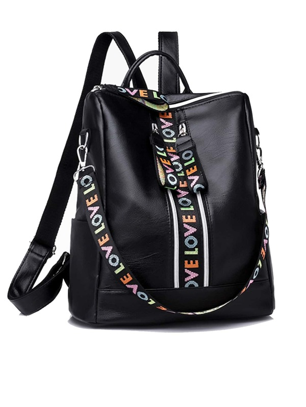 AddThis Detachable Sharing Slogan Backpack Strap Buttons AnvtqHw