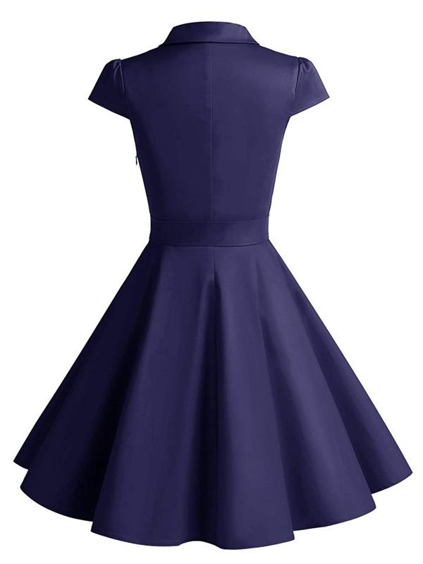 fa0e38c33bef7 Cheap Knot Detail Circle Dress for sale Australia | SHEIN