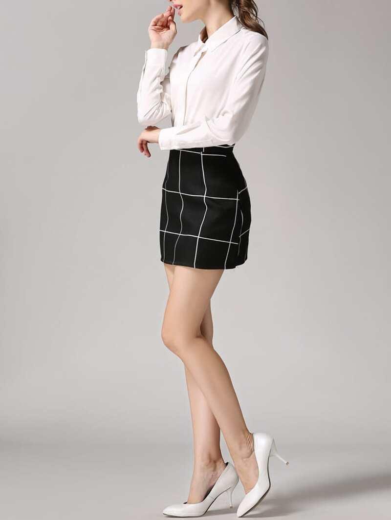 ee007689d Minifalda de cuadros
