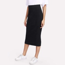 - Sheath Midi Skirt