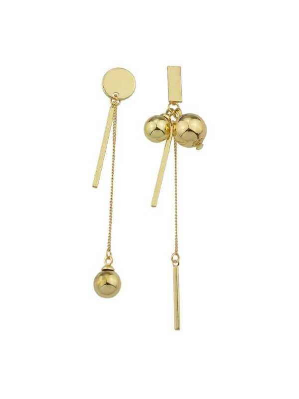 Metallkugel Ohrringe Metallkugel Metallkugel Ohrringe Metallkugel Ohrringe Ohrringe Asymmetrische Ohrringe Asymmetrische Asymmetrische Asymmetrische Asymmetrische Metallkugel jL534AR