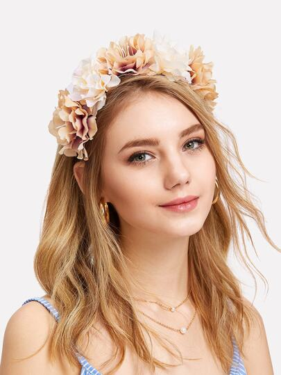 Flower Decorated Headband