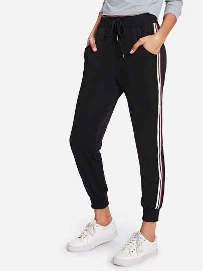 Stripe Tape Side Sweatpants