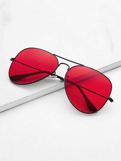 4564b33948 Top Bar Aviator Sunglasses