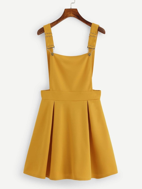 ead07958f65b Box Pleated Pinafore Dress