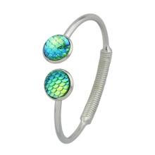 Green Mermaid Scales Love Bracelets