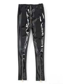 a7478afc0dfa Cheap Zipper Fly Patent Leather Pants for sale Australia