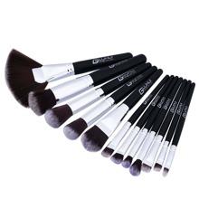 Image of Fan Shaped Professional Makeup Brush 12pcs