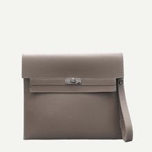 Flap Clutch Bag With Wristlet