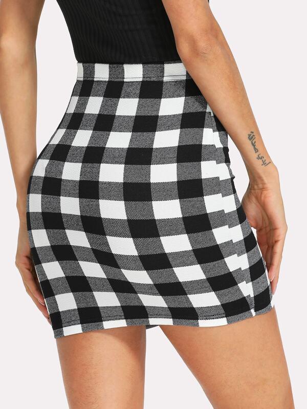 415358d79 Minifalda de cuadros