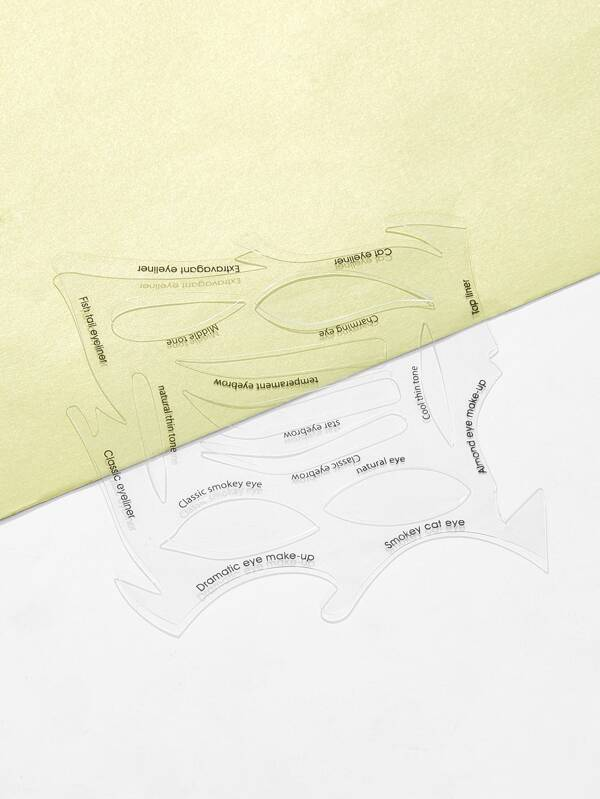 Plantilla del eyeliner del maquillaje-Spanish SheIn(Sheinside)