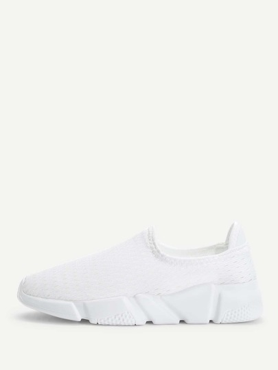Net Surface Low Top Sneakers