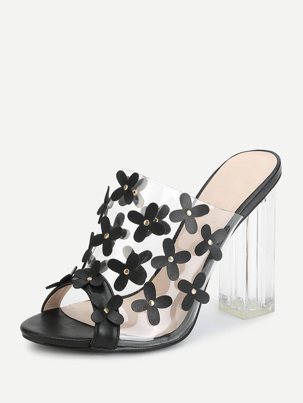 9c4db166449 Cheap Flower Decorated Block Heeled Sandals for sale Australia