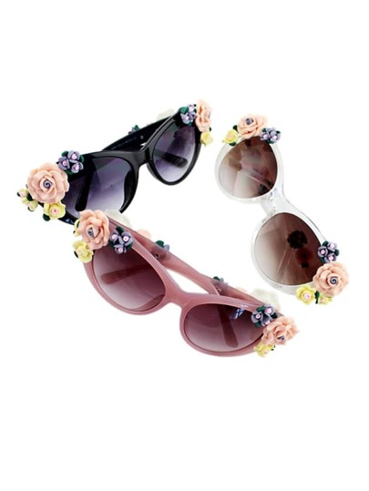 Cute Flower Women Sunglasses