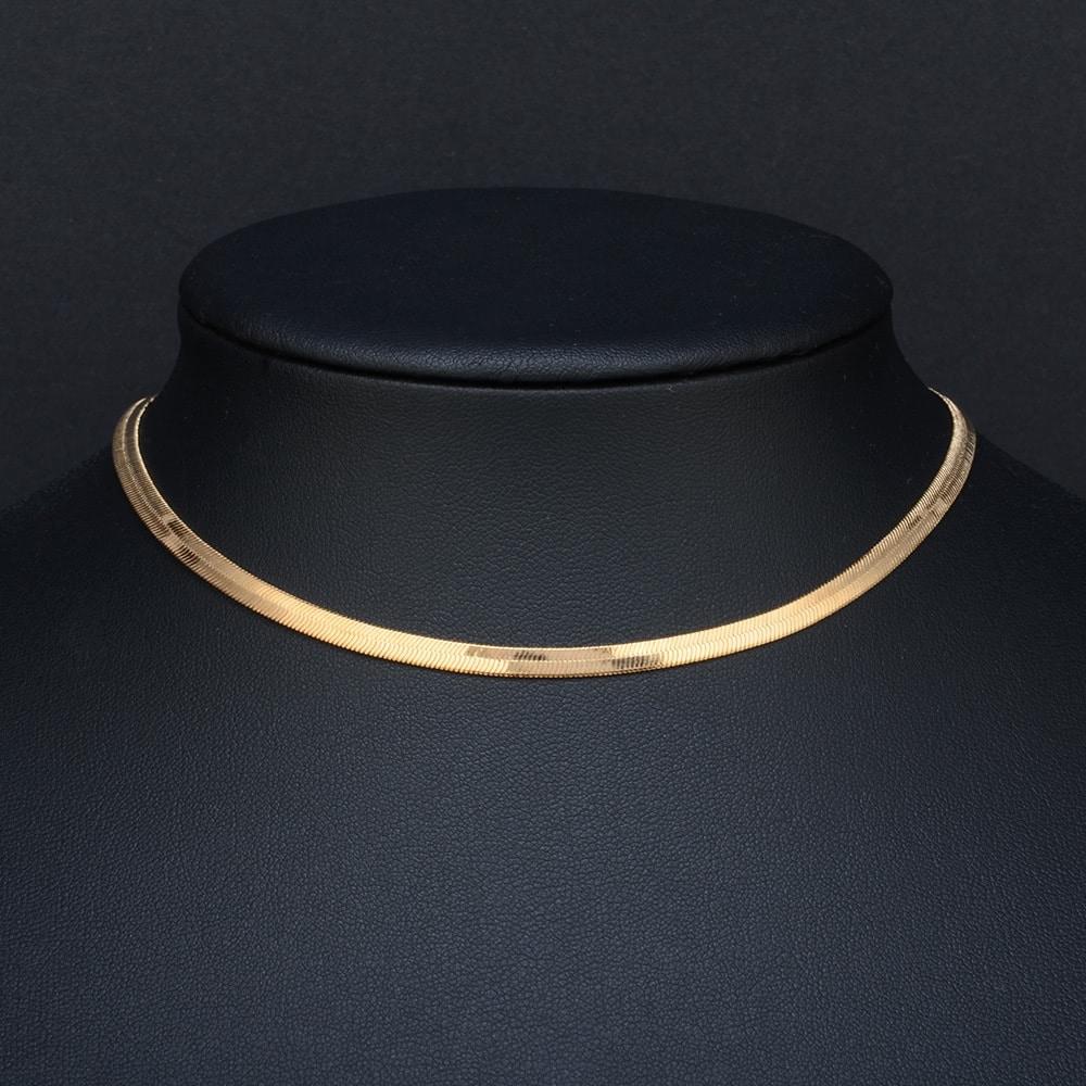 Минималистичное цепное ожерелье