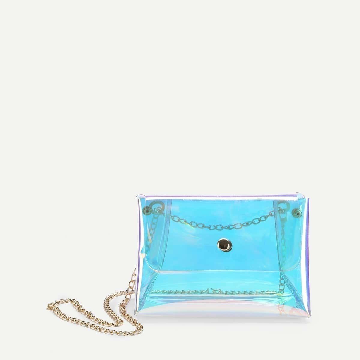 - Transparent Shoulder Bag