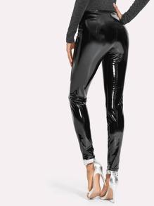 9b155dd0a2b9c Cheap Zip Front Patent Leather Pants for sale Australia | SHEIN