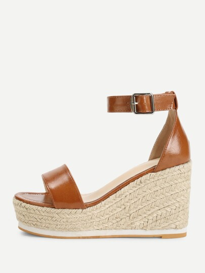 c007b304a61 Ankle Strap Espadrille Wedges