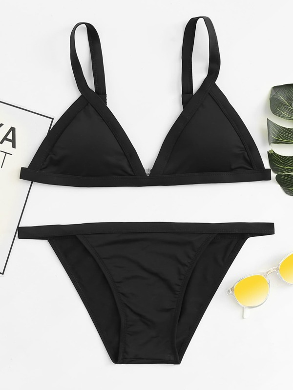 e7a533509b Cheap Adjustable Straps Triangle Bikini Set for sale Australia   SHEIN