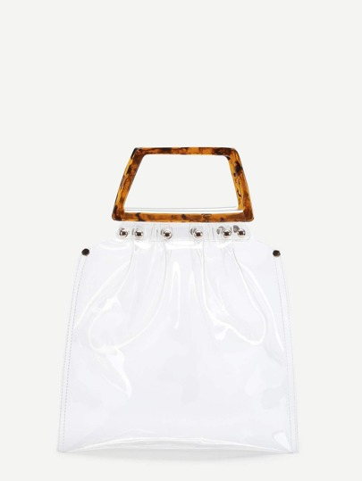 Transparent Tote Jelly Bag