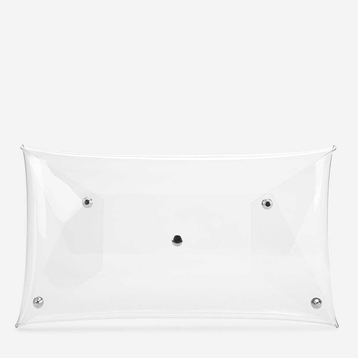 - PVC Clear Clutch Bag