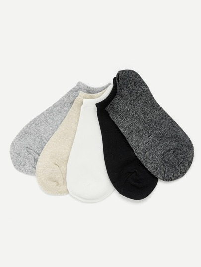 Cotton Invisible Socks 5pairs